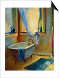Sun in the New Bathroom Posters by Pam Ingalls