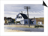 Lombard's House Affiches par Edward Hopper