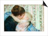A Goodnight Hug Posters by Mary Cassatt