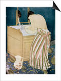 Woman Washing Hands Prints by Mary Cassatt
