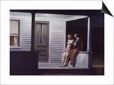Soirée d'été Posters par Edward Hopper