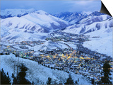 Sun Valley and Ketchum in Winter Prints
