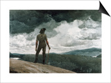 The Woodcutter Posters by Winslow Homer