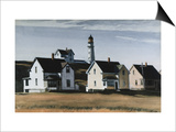 Lighthouse Hill, Cape Elizabeth, Maine Affiches par Edward Hopper