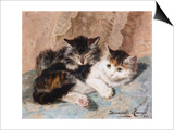 Best of Friends Prints by Henriette Ronner-Knip