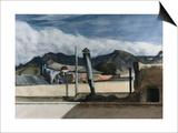 Toits de Saltillo Affiches par Edward Hopper
