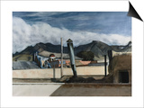 Saltillo Rooftops Prints by Edward Hopper