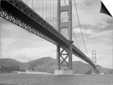 View of Golden Gate Bridge Print by  Bettmann