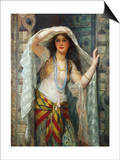 Safie, One of the Three Ladies of Bagdad Prints by William Clarke Wontner