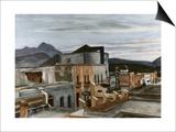 El Palacio Affiche par Edward Hopper