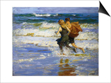 At the Beach Posters by Edward Henry Potthast