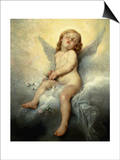 Sleeping Angel Prints by Leon Basile Perrault
