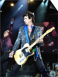 Keith Richards of the Rolling Stones on Stage at the Isle of Wight Festival Art