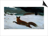 The Fox Hunt Print by Winslow Homer