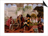 Twelfth Night, Act II, Scene IV Prints by Walter Howell Deverell