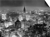 View of Manhattan from RCA Building Prints by  Bettmann