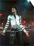 Michael Jackson Seen Here in Concert at Roundhay Park. 29th July 1988 Plakater