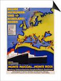 Billige Mittelmeer Und Nordland-Reisen Poster Posters