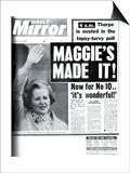 Maggie's Made It! Print