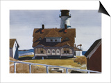 Captain Strout's House Affiches par Edward Hopper