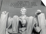 Lincoln Print by Daniel Chester French
