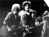 Bob Dylan and Tom Petty on Stage at Wembley Arena 1987 Plakater