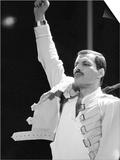 Queen Rock Group Freddie Mercury, Queen in Concert at Wembley Stadium, London Freddie Mercury Poster