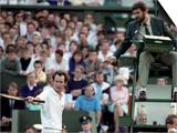 Wimbledon. John Mcenroe. June 1988 Art
