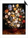 Small Vase of Flowers Prints by Jan Brueghel the Elder