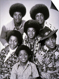 The Jacksons Pop Group with Michael Jackson from 1972 Plakat