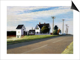 Route 6, Eastham Affiches par Edward Hopper