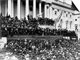 Second Inauguration of President Abraham Lincoln Poster