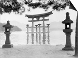 Torii Gate in Water Prints