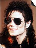 Michael Jackson Wearing Sunglasses, c.1990 Affiches