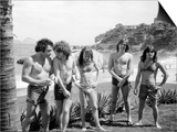 Aussie Metal Band AC/DC at the Seaside in Rio Láminas