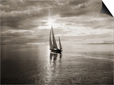 Diamond Head Yacht in Swiftsure Race Prints by Ray Krantz