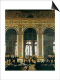 The Signing of the Peace Treaty in the Hall of Mirrors, Versailles, June 28, 1919 Prints by William Orpen