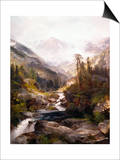 The Mountain of the Holy Cross Posters by Thomas Moran