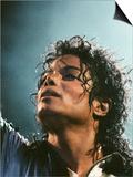 Michael Jackson in Concert at Milton Keynes, September 10, 1988 Kunstdruck