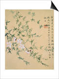 Flowers, from an Album of Ten Leaves Posters by Zhou Xianji