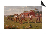 Snap the Whip Art by Winslow Homer