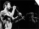 Shane Macgowan Irish Pop Singer the Pogues on Stage, 1988 Obrazy