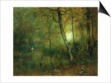 Pool in the Woods Prints by George Innes