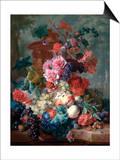 Fruit Piece Prints by Jan Van Huysum