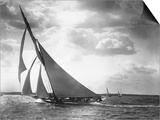 Sailing Yacht Mohawk at Sea Prints