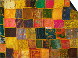 Colorful Carpet, Pushkar, Rajasthan, India Art by Keren Su