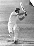 Ian Botham Batting For England V. Pakistan, August 1982 Kunst
