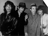 The Rolling Stones Pop Group at the 100 Club London 1986 Poster