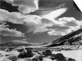 Lake and Snow Landscape Poster by Brett Weston