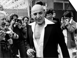 Telly Savalas Greek Actor at Cannes 1977 Posters